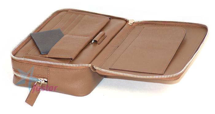 Мужская кожаная fashion барсетка Prada сумка мужская