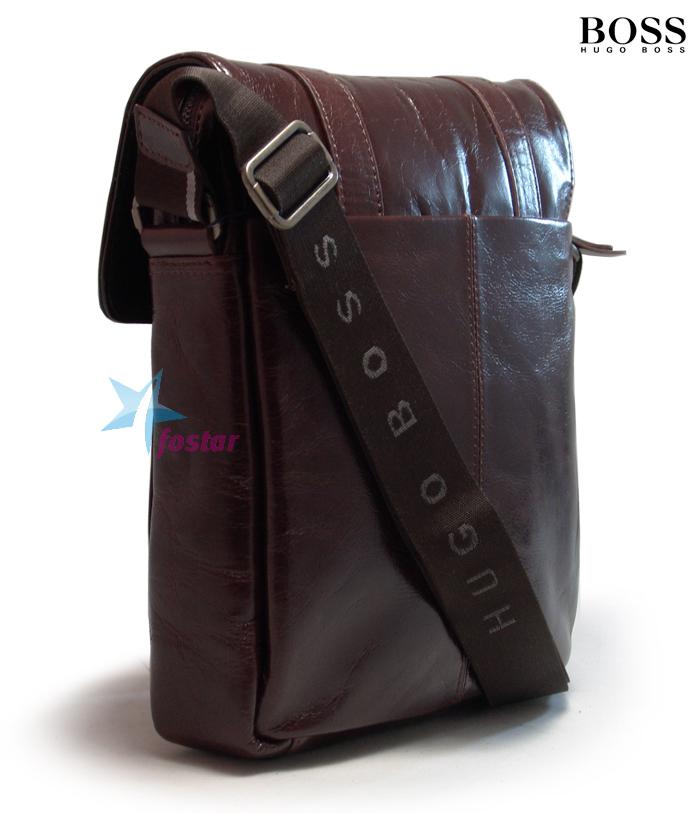 Мужская сумка планшет через плечо Hugo Boss 90701-2