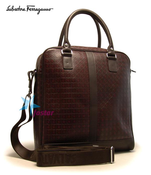 Salvatore ferragamo маленькая сумка-портфель carrie