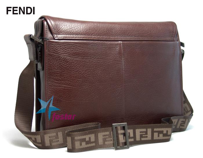 Мужской планшет для документов через плечо Fendi F1015-5BR
