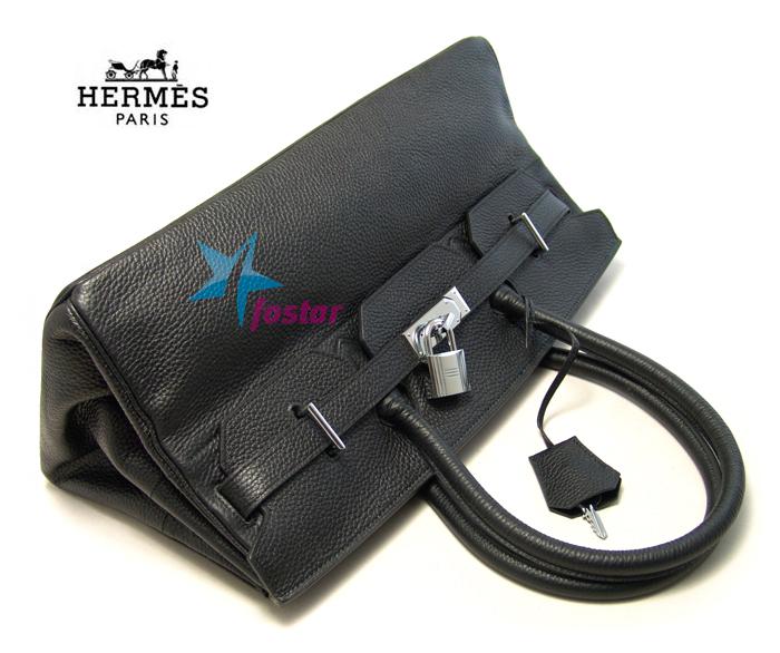 Большая женская fashion сумка Hermes H7007WBK вместительная