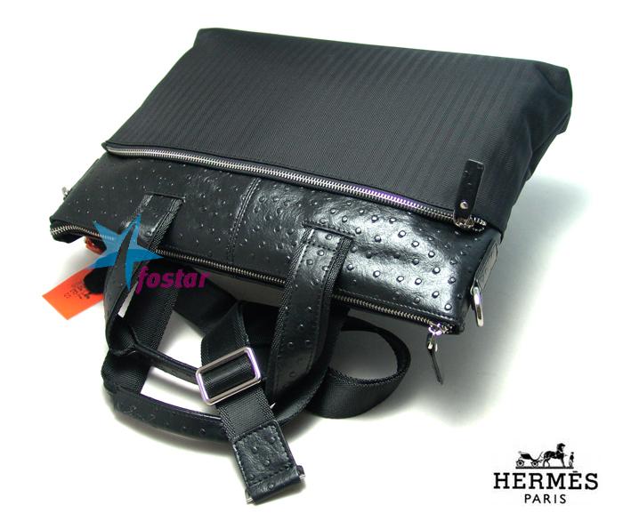 Стильный мужской портфель для документов Hermes 6650-5BK