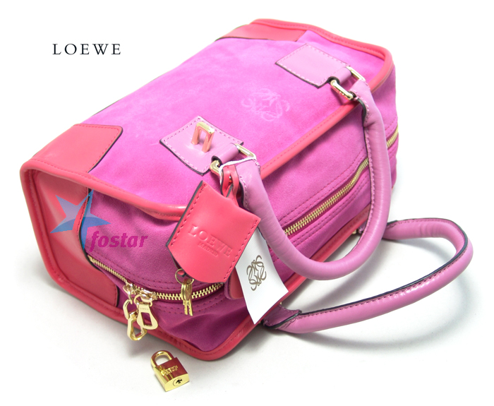 Женская сумка Loewe LW20207S маленькая розовая сумочка