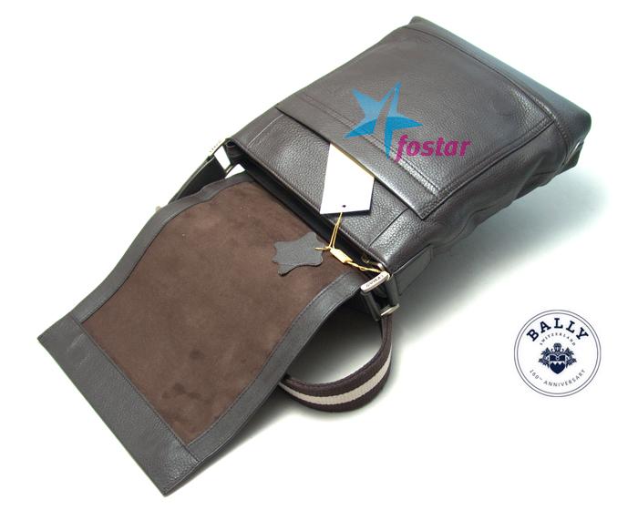 Сумка мужская через плечо Bally 8079-7BK планшет