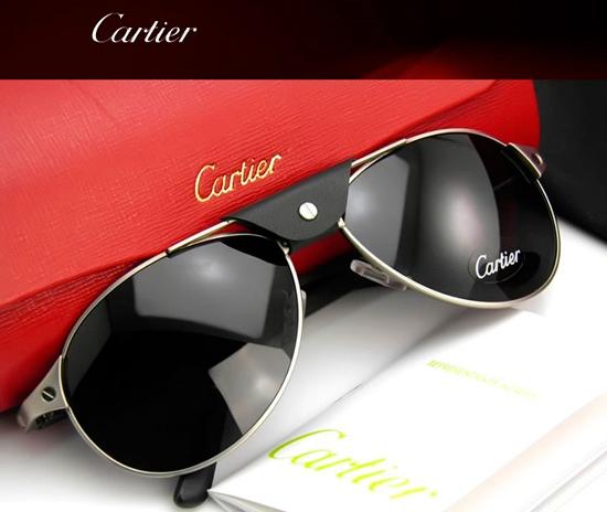 Мужские солнцезащитные очки Сartier T8200573