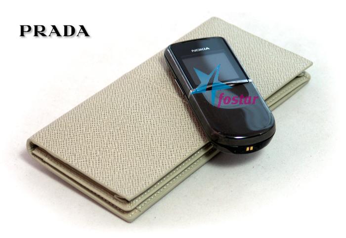 Мужской бумажник Prada 0801-1WH