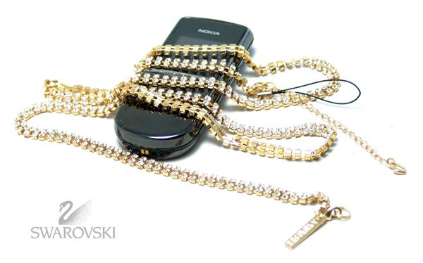 Подвеска украшение Stoned ( GD/WH ) хрусталь Swarovski