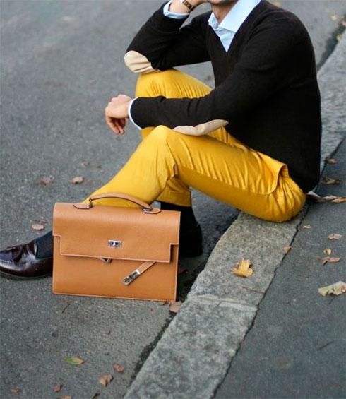 Мужские сумки Hermes брендовые портфели