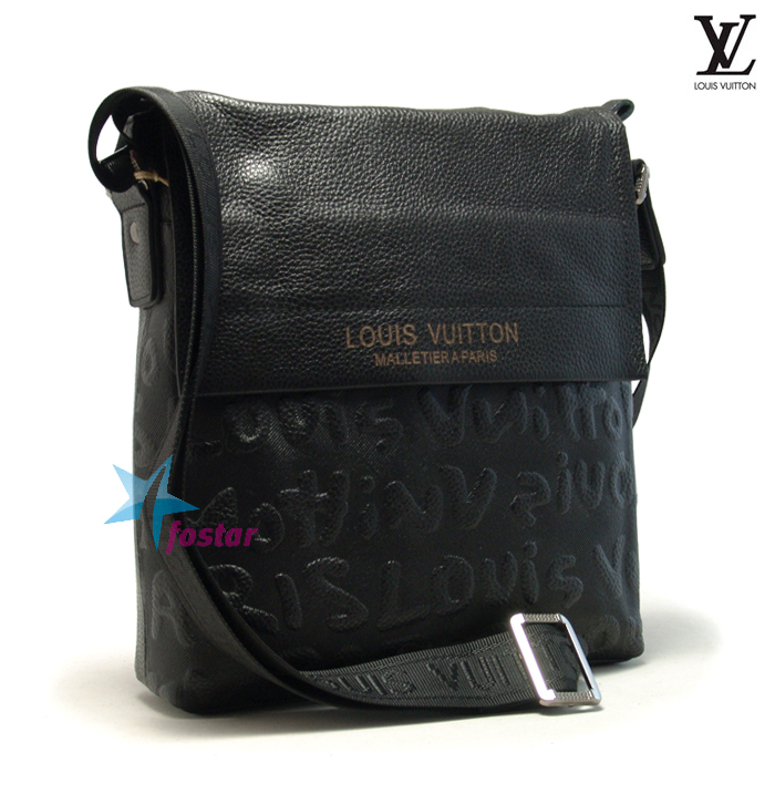 3ae3df0d17de Мужская сумка планшет через плечо Louis Vuitton 218-2 - fostar.ru