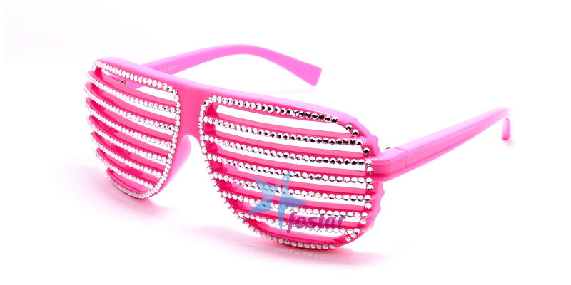 074fec409da4 Модные молодежные очки со стразами розовые очки - fostar.ru