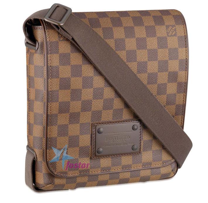 4e233b093982 Молодежная мужская сумка Louis Vuitton Brooklyn PM N51210 - fostar.ru