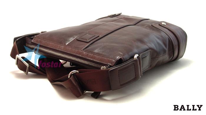 8e573727cc19 Мужская fashion сумка через плечо Bally 6633-1 лакированная кожа ...