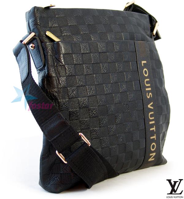 18cae76f231d Мужская молодежная сумка Louis Vuitton планшет через плечо - fostar.ru