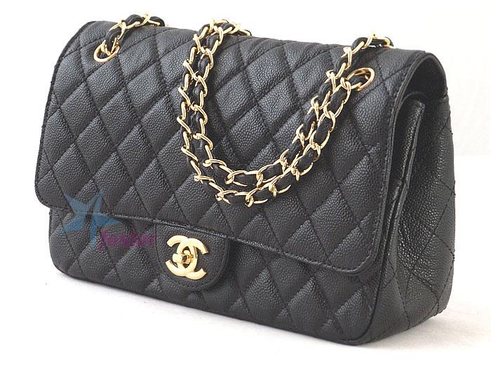 904077e2440e Женская сумка Chanel 2059 black кожаная вечерняя сумочка - fostar.ru