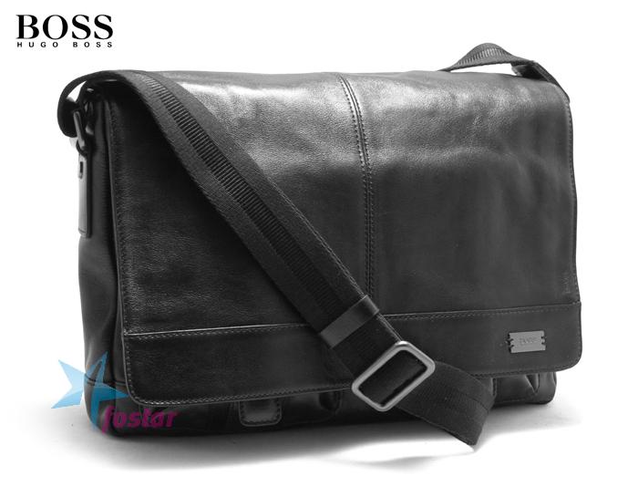 Мужская стильная сумка через плечо Hugo Boss кожаная сумка - fostar.ru c80adf8ac49