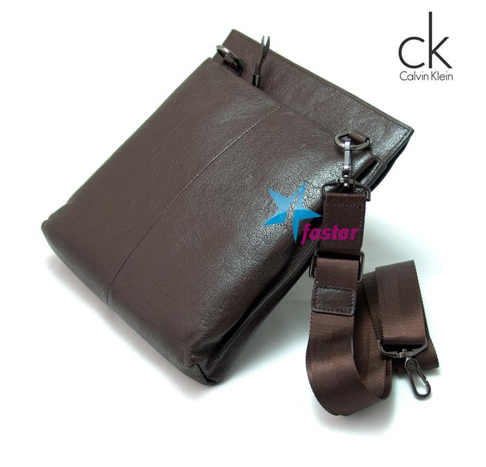 6d1e155ddf30 Мужская сумка через плечо Calvin Klein CK3096-2BR - fostar.ru