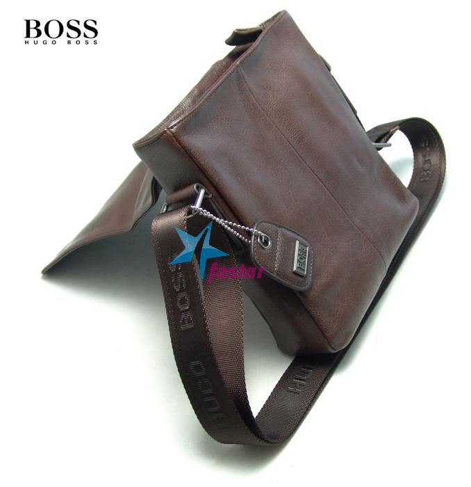 7f3734f93998 Мужская сумка-планшет через плечо Hugo Boss D8630-5BR - fostar.ru