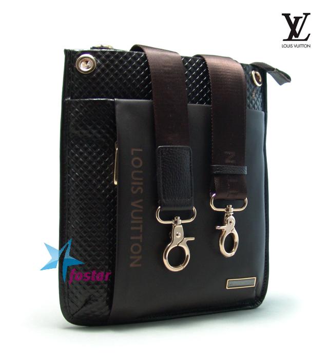 934a438579f3 Сумка-планшет через плечо мужская Louis Vuitton LV2058-2BR - fostar.ru