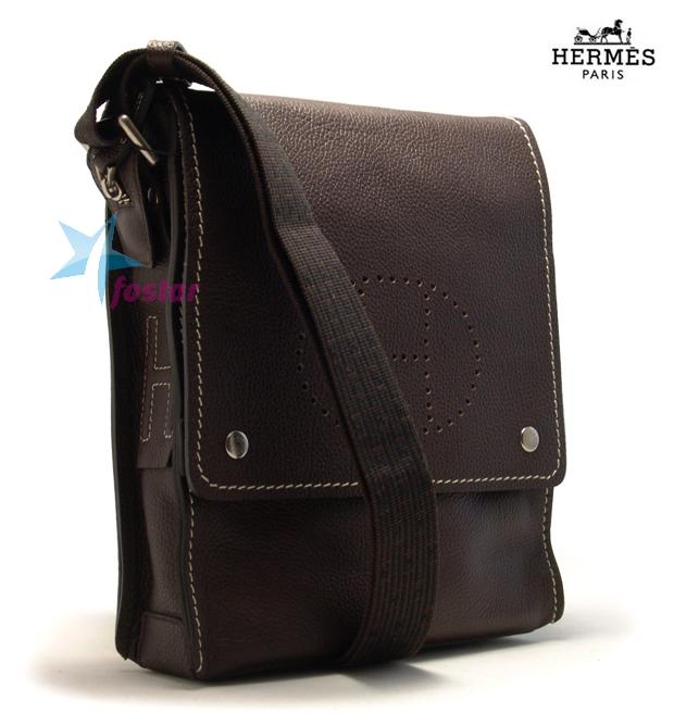 3aafb0a5911b Стильная мужская сумка через плечо Hermes 17188-5