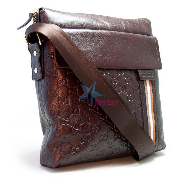 Молодежная мужская сумка Gucci fashion сумка через плечо - fostar.ru 7da3fbdd0d0