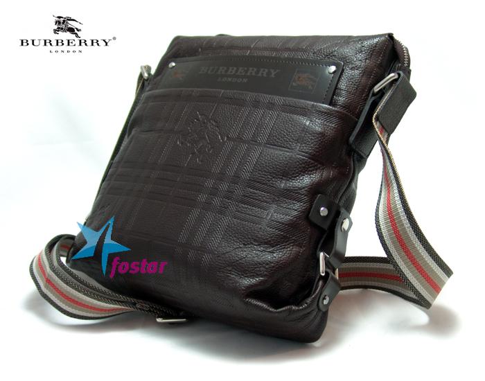 05f280ec87e2 Мужская сумка через плечо Burberry 6816-3BR - fostar.ru