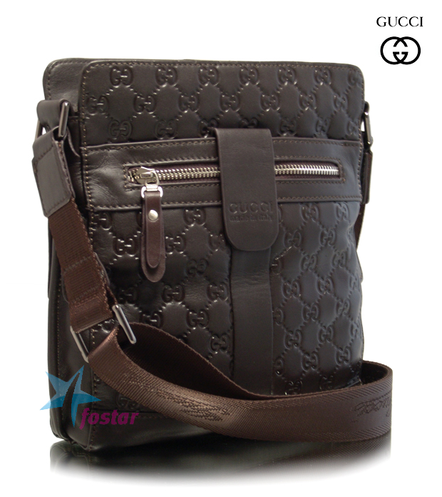 b3adcb4e5029 Мужская сумка планшет через плечо Gucci 8923-1 кожаная - fostar.ru