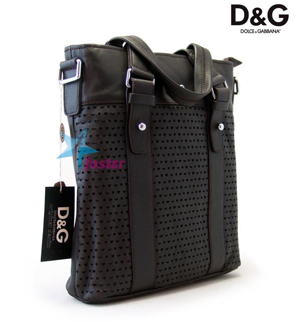 8960c848f02e Молодежная мужская сумка Dolce & Gabbana кожаная сумка - fostar.ru