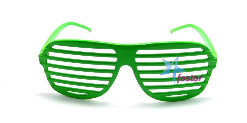 d35c746a67f0 Веселые молодежные очки, клубные зеленые очки жалюзи - fostar.ru