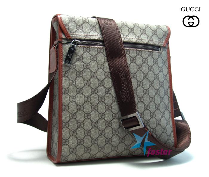 cd5c3a856486 Мужская модная сумка-планшет через плечо Gucci 44930-2 - fostar.ru