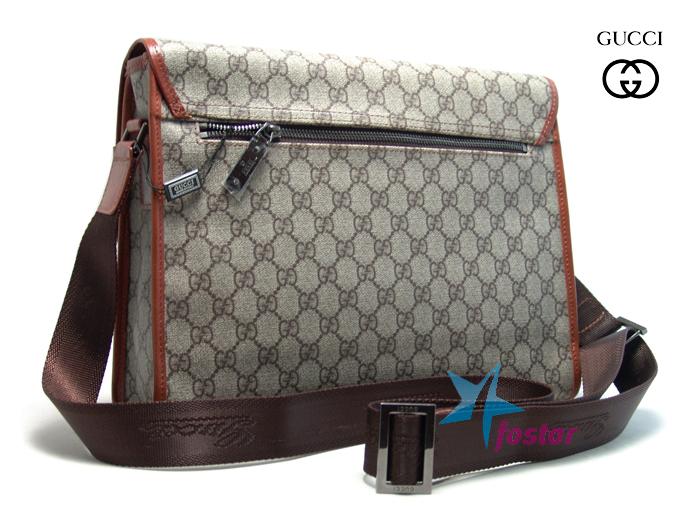 1336707ff411 Мужская сумка через плечо Gucci 44930-4 ранец мужской - fostar.ru