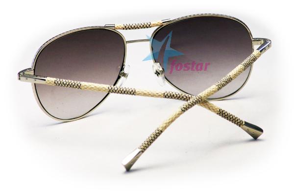f43639a8f5e9 Солнцезащитные очки с кожаными дужками Louis Vuitton Z02806 - fostar.ru